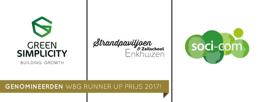 Genomineerden WBG Runner Up prijs 2017